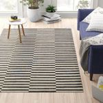 Custom Areas Rug Black And White Rug - Gift For Family