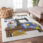 Custom Areas Rug Sewing Room Rug - Gift For Family
