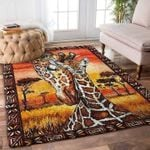Custom Areas Rug Giraffe Rug - Gift For Family