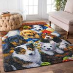 Custom Areas Rug Dogs Rug - Gift For Family
