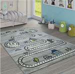Custom Areas Street Car Child Rug - Gift For Family