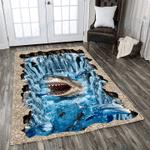 Custom Areas Shark Rug - Gift For Family