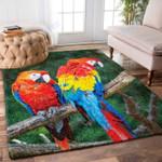 Custom Areas Rug Parrot Rug - Gift For Family