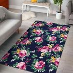 Custom Areas Rug Vintage Blossom Floral Rug - Gift For Family