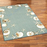 Custom Areas Rug Seashell Rug - Gift For Family #99812
