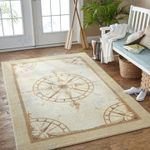 Custom Areas Rug Compass Mariner Rug - Gift For Family