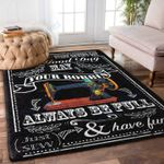 Custom Areas Rug Sewing Room Rug - Gift For Family #12587