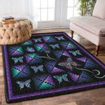 Custom Areas Rug Rosie Co Dancing Butterflies Rug - Gift For Family