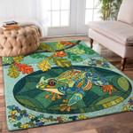 Custom Areas Rug Frog Mandala Rug - Gift For Family
