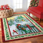 Custom Areas Rug Christmas Village Rug - Gift For Family
