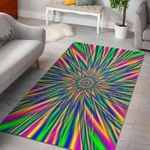 Custom Areas Rug Vibrant Psychedelic Rug - Gift For Family
