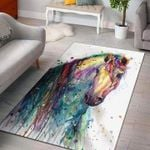Custom Areas Rug Horse Color Rug - Gift For Family