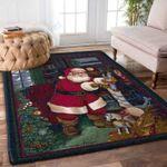Custom Areas Rug Santa Claus Rug - Gift For Family