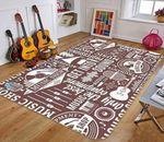 Custom Areas Rug Music Shop Rug - Gift For Family
