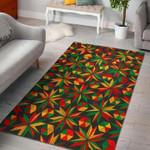 Custom Areas Rug Abstract Geometric Reggae Rug - Gift For Family