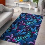 Custom Areas Rug Turquoise Hawaii Tropical Rug - Gift For Family