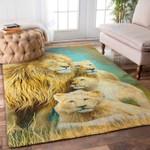 Custom Areas Rug Lion Family Rug - Gift For Family