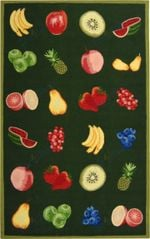 Custom Areas Rug Fruits Rug - Gift For Family