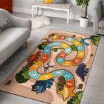 Custom Areas Rug Dino Counting Game Rug - Gift For Family