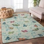 Custom Areas Rug Butterflies On Tree Rug - Gift For Family