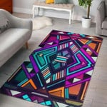 Custom Areas Rug Ethnic Aztec Trippy Rug - Gift For Family