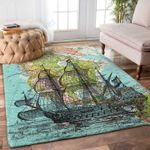 Custom Areas Rug Map And Boat Rug - Gift For Family