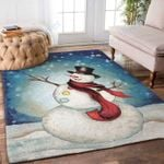 Custom Areas Rug Cheering Snowman Rug - Gift For Family