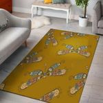 Custom Areas Rug Dragonflies Rug - Gift For Family