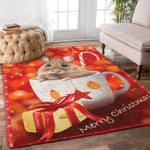 Custom Areas Mouse Christmas Rug - Gift For Family
