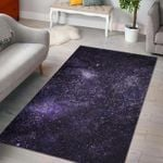 Custom Areas Rug Dark Purple Cosmos Galaxy Space Rug - Gift For Family