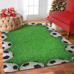 Custom Areas Rug Soccer Rug - Gift For Family