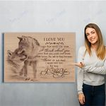 Wolf Canvas Print Wall Art - Gift For Wife - Matte Canvas