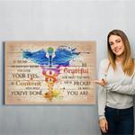 Nursing Canvas Print Wall Art - Matte Canvas