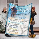 Personalized To My Wife Gifts - To My Wife Custom Name Blankets - Gifts For Wife - Fleece Blanket