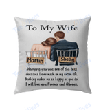 To My Wife Pillow Best Pillow
