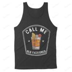 Vintage Call Me Old Fashioned Whiskey T-Shirt - Standard Tank