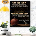 Your Way Back Home - Basketball - Mom - Matte Canvas