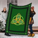 St. Patrick's Day Custom Blanket Irish Protection Blanket - Fleece Blanket
