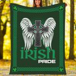 St. Patrick's Day Custom Blanket Irish Pride Blanket - Fleece Blanket