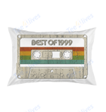 Vintage Best of 1999 20th Birthday Cassette Pillow Best Pillow - Pillow Covers