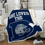 Custom Blankets Dallas Football Personalized Blanket 1 - Fleece Blanket