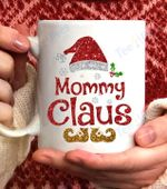 Funny santa Mommy claus Christmas family gifts Coffee Mug - White Mug