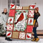 Custom Blankets Christmas Blanket - I'M ALWAYS WITH YOU - Fleece Blanket