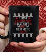 Couple Christmas Coffee Mug - Perfect Gift For Wife - Black Mug