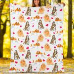 Custom Blankets American Cocker Dog Blanket - Fleece Blanket