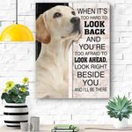 Labrador Dog Canvas Prints Wall Art - Matte Canvas