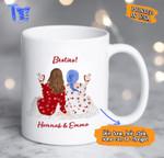 Coffee Mug - Personalized Coffee Mugs - Perfect gift for Best Friend - White Mug