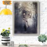Wolf Canvas Prints Wall Art - Matte Canvas
