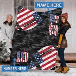 Custom Blankets American Football Personalized Blanket - Fleece Blanket
