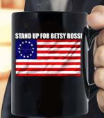 Rush Betsy Ross 1776 Limbaugh Gifts T-Shirt.. - Black Mug